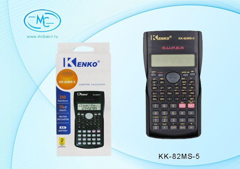 Калькулятор инженерный 10р 16,1х8,4х2см с крышкой
