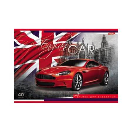 Альбом д/рис 40л «Country CARS» 5вид