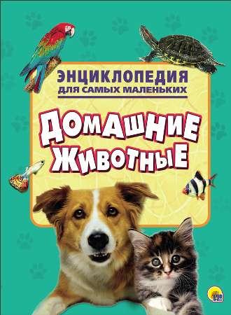 Книга. Энциклопедия д/с.м. Домашние животные