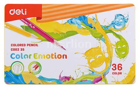 Карандаши 36цв «Color Emotion» липа