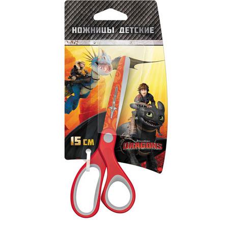 Ножницы 15см «Action!Dragons» детские