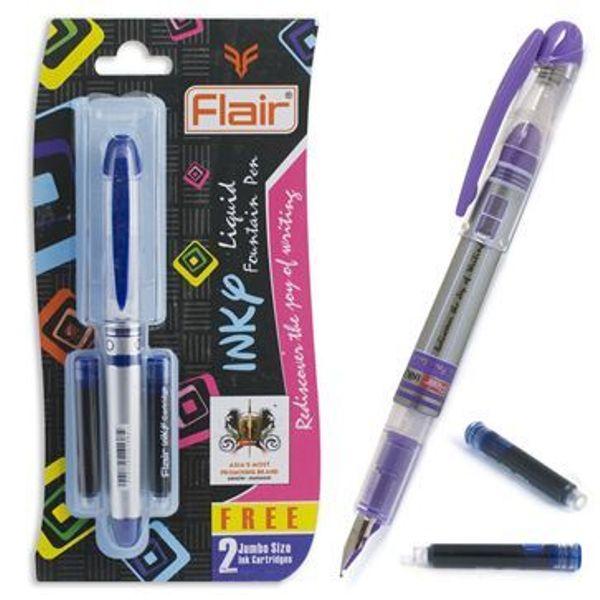 Ручка перьевая Flair Inky с 2мя капсулами блистер