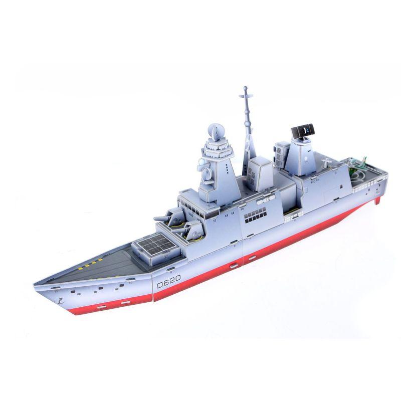 3Д пазлы Французский фрегат (51дет) 49,7х7,5х18,7