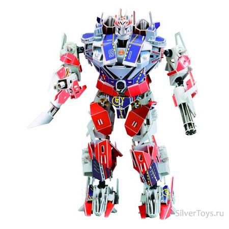 3Д пазлы Супер робот (285дет) 39х26х17 см