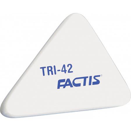 Ластик FACTIS 50х41х9мм мягкий треугольн
