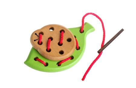 Шнуровка «Лето» (деревянная игрушка)