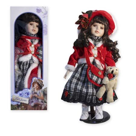 Кукла фарфоровая «КОНСТАНЦИЯ»