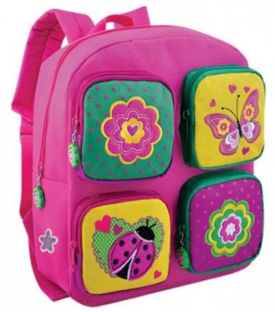 Рюкзак Детский «Бабочки и цветочки.Коллаж»