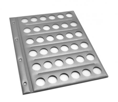 Монетница-планшет (36монет) 230х300мм с перфорац
