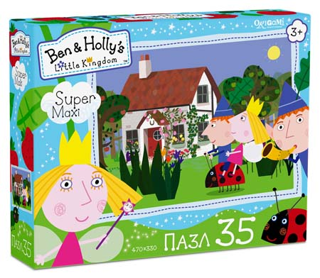 Пазлы 35эл maxi «Ben&Holly.Вперед, Гастон!»