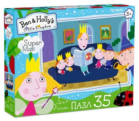 Пазлы 35эл maxi «Ben&Holly.Читаем сказки»