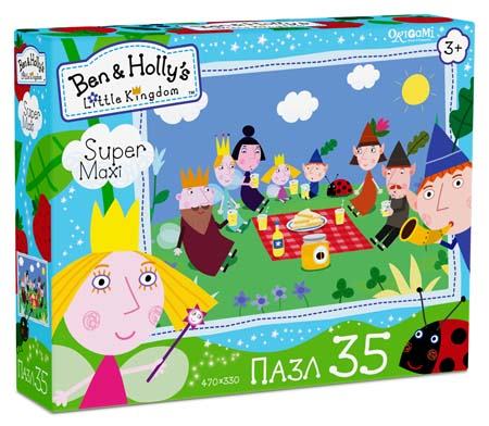 Пазлы 35эл maxi «Ben&Holly.Пикник»