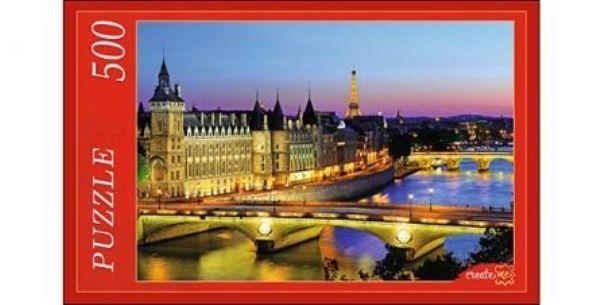 Пазлы 500эл «Вид на Париж»