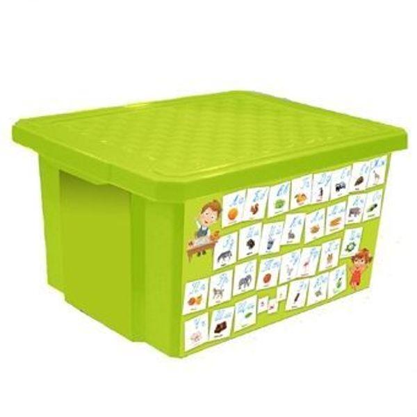 Детский ящик для хранения игрушек на 17л