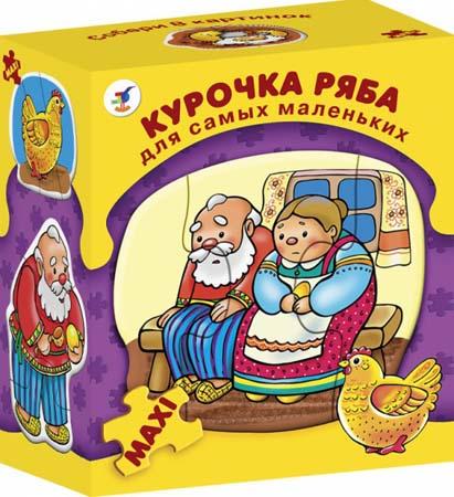 Пазлы-Макси ДСМ «Курочка Ряба»