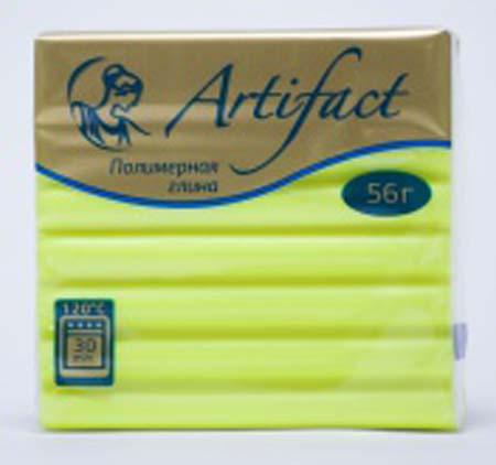 Пластика 56гр Брус флуоресцентный лимонный