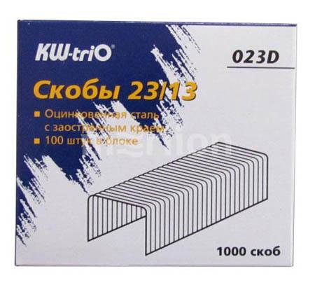 Скобы №23/13 KW-TRIO