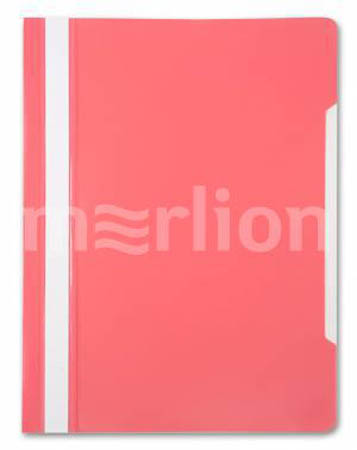 Скоросш пласт А4-Розовый