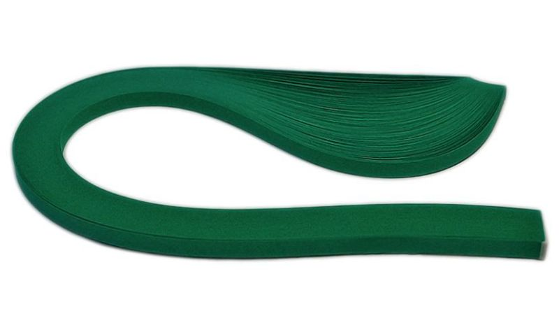 Бумага-квиллинг (5мм) Тёмно-зелёный, 150пол