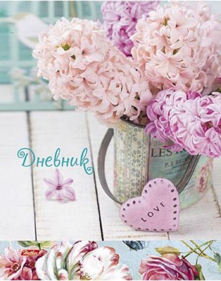 Дневник 1-11 М «Этюд в розовых тонах» тиснение