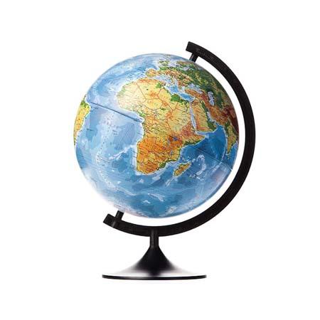 Глобус d=320мм Физико-Политич (Подсветка)