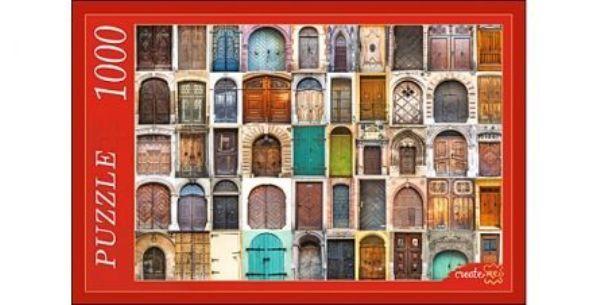 Пазлы 1000эл «Множество дверей»