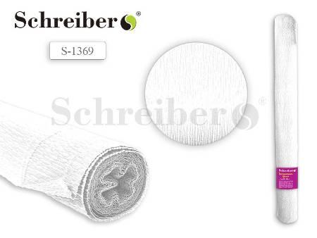 Цв бумага крепиров 50х250см Белый цвет
