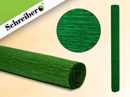 Цв бумага крепиров 50х250см Темно-зеленый цвет