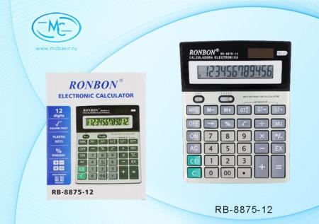 Калькулятор 12 разрядный 18,5х14,1х3.2 см