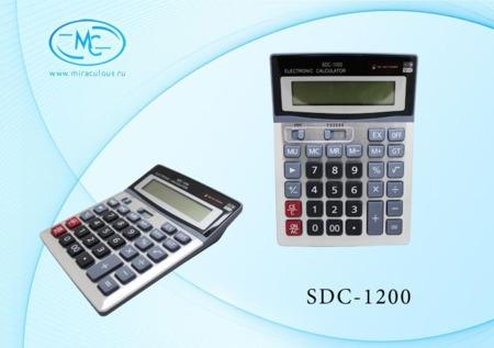 Калькулятор 12 разр 19.2х14.8*3.3 см