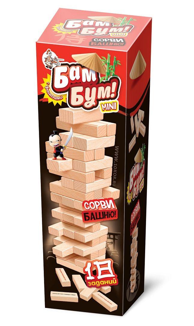 Игра Бам-Бум mini (Падающая башня)
