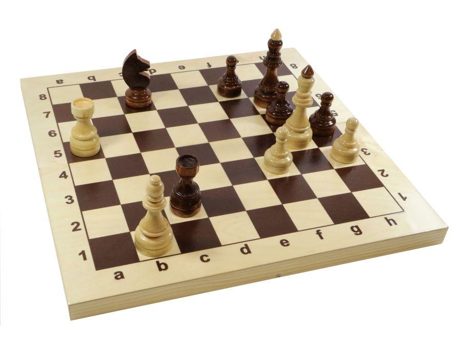 Шахматы Гроссмейстерские 43х43 (деревян. коробка)