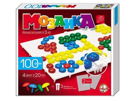 Мозаика d20 100эл/4цв/2поля 230/200/35