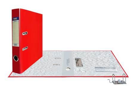 Папка-регистр 50мм PVC Красный Classic разборный
