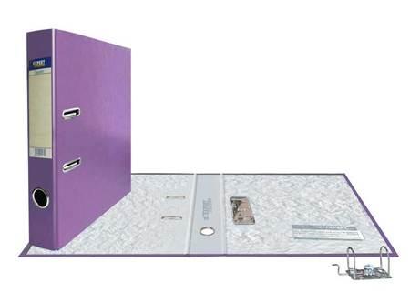 Папка-регистр 50мм PVC Сиреневый Classic разборный