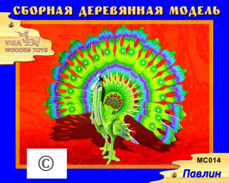 Сборн Дерев Модель Павлин-1