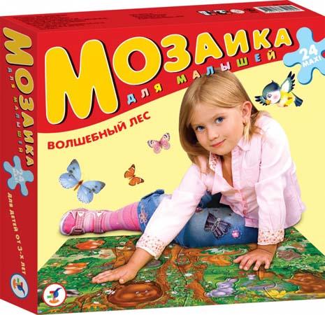 Мозаика для Малышей. ВОЛШЕБН ЛЕС (Картон)