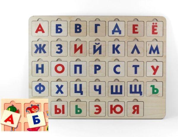 Игра деревянная развивающая «Азбука 1»