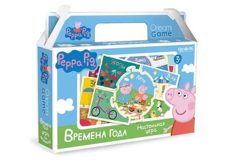 Игра Времена года (Peppa Pig)