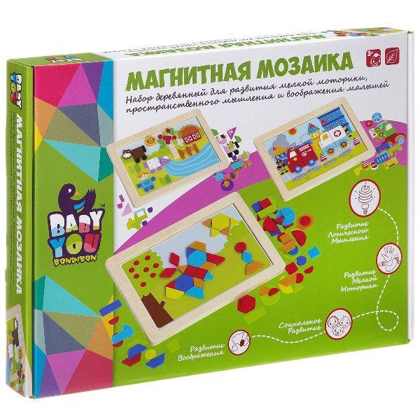 Игра дер магнитная мозаика Ферма 37х28х3см