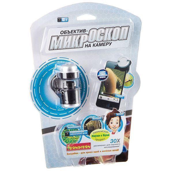 Игрушка объектив-микроскоп на камеру смартфона