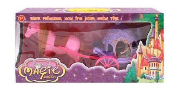 Игровой набор «Карета принцессы-1″с лошадью и кукл