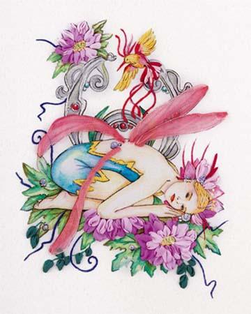 Набор д/вышив Л+М «Фея цветов»