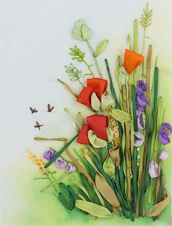 Набор д/вышив Л+М «Полевые цветы.Маки»