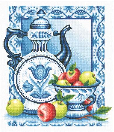 Набор д/вышив М «Наливные яблочки»