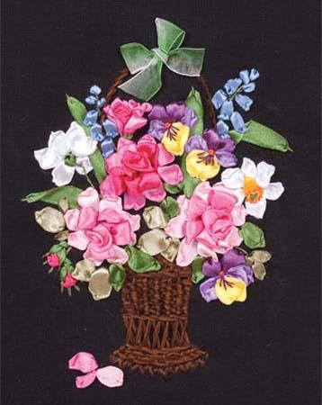 Набор д/вышив Л+М «Цветы для любимой»