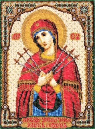 Набор д/вышив Б «Икона Божией Матери.Умягчение сер