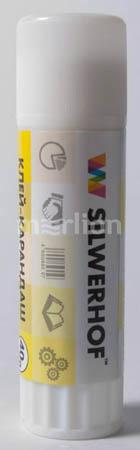 Клей-карандаш 40г ПВП Silwerhof