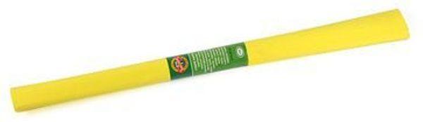 Цв бумага крепиров 50х200см «Жёлтая»