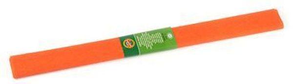 Цв бумага крепиров 50х200см «Тёмно-оранжевая»